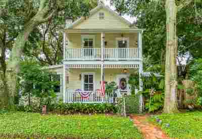St Augustine FL Single Family Home For Sale: $649,000