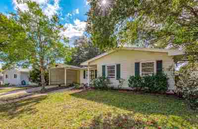 St Augustine Single Family Home For Sale: 241 Deltona Blvd