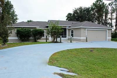 Palm Coast FL Single Family Home For Sale: $209,900