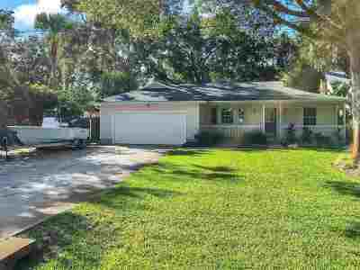 St Augustine FL Single Family Home For Sale: $424,900