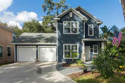 St Augustine Beach FL Single Family Home Contingent: $349,900