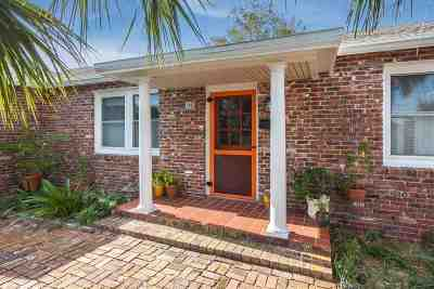 St Augustine Single Family Home For Sale: N 98 St Augustine Blvd