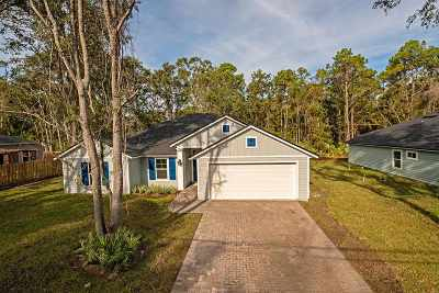 St Augustine FL Single Family Home For Sale: $239,000