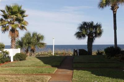 St Augustine Beach Condo For Sale: 6300 A1a South B5-4th