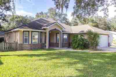 St Augustine Single Family Home For Sale: 568 Segovia