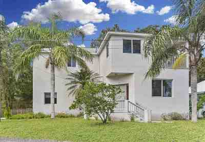 St Augustine Single Family Home For Sale: 10 Seminole Dr