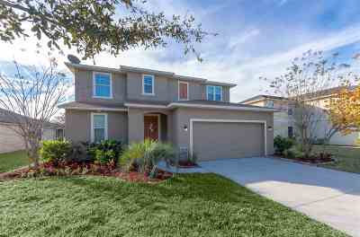 St Augustine Single Family Home For Sale: 237 Sunshine Dr