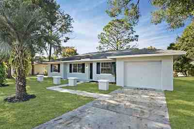 St Augustine FL Single Family Home For Sale: $234,900