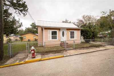 St Augustine FL Single Family Home For Sale: $255,000