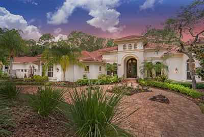 St Augustine FL Single Family Home For Sale: $1,200,000