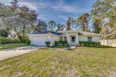 St Augustine Single Family Home For Sale: 266 Cornell Road
