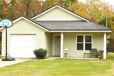 St Augustine FL Single Family Home For Sale: $155,000