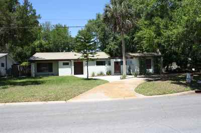 St Augustine Beach Single Family Home For Sale: 74 Willow Drive
