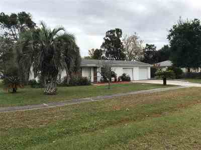 St Augustine Single Family Home For Sale: 311 Deltona Blvd