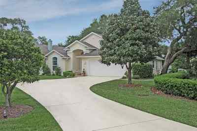 St Augustine Single Family Home Contingent: 212 Big Magnolia Ct