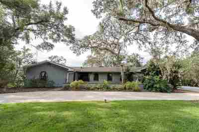 St Augustine FL Single Family Home For Sale: $499,000