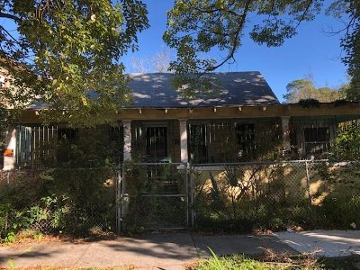 Jacksonville FL Single Family Home For Sale: $44,000