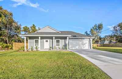 St Augustine Single Family Home For Sale: 124 Dory