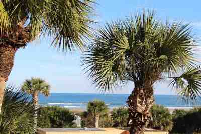 St Augustine Beach Condo For Sale: 4 Ocean Trace