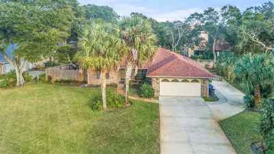 St Augustine Beach FL Single Family Home Conting_accpt Backups: $349,900