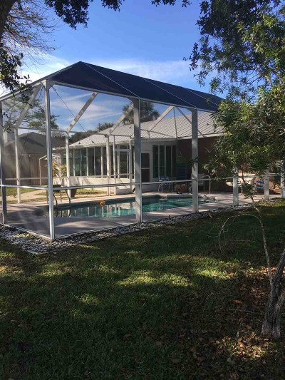 St Augustine Beach FL Single Family Home For Sale: $360,000