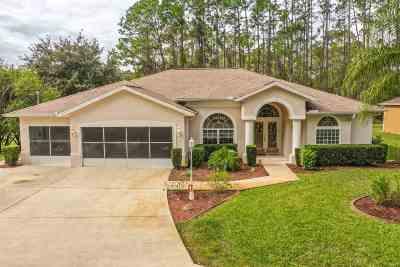 Palm Coast Single Family Home For Sale: 1 Lake Charles Pl