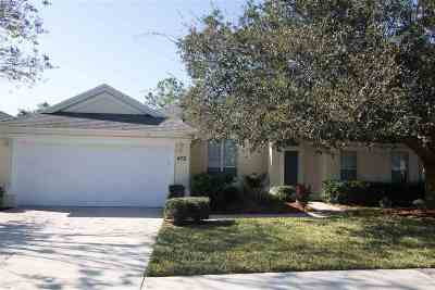 St Augustine Single Family Home For Sale: 472 San Nicolas Way