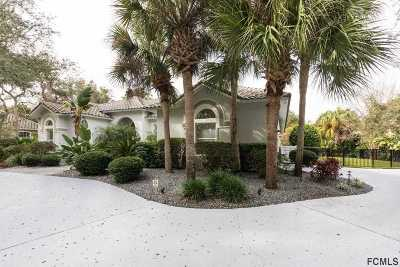 Palm Coast Single Family Home For Sale: 10 Roma Ct