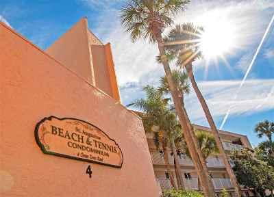 St Augustine Beach FL Condo For Sale: $334,000