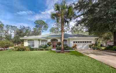 Palm Coast Single Family Home For Sale: 1 Wellshire Lane