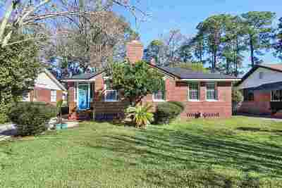 Jacksonville Single Family Home For Sale: 813 Old Hickory Rd