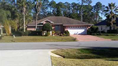 Palm Coast Single Family Home For Sale: 8 Emerson Drive