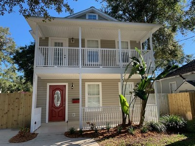 St Augustine Single Family Home For Sale: 125 Twine Street