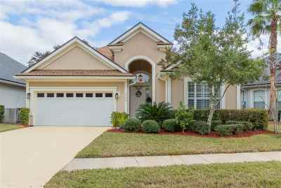 St Augustine Single Family Home For Sale: 356 Island Green Dr