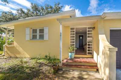 Saint Johns County Single Family Home For Sale: 60 Magnolia