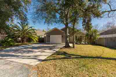 Saint Johns County Single Family Home For Sale: 154 Nesmith Ave