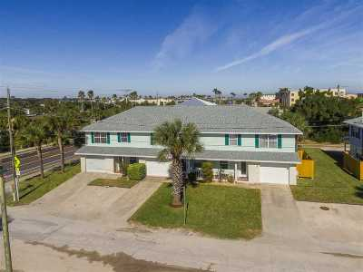 St Augustine Beach Condo For Sale: 16 12th Street Unit A #A