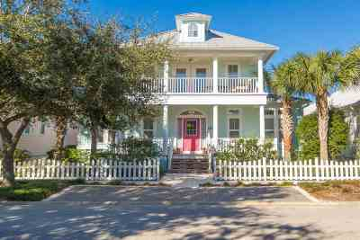 St Augustine Single Family Home For Sale: 120 Island Cottage Way