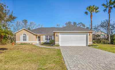 St Augustine FL Single Family Home For Sale: $339,000