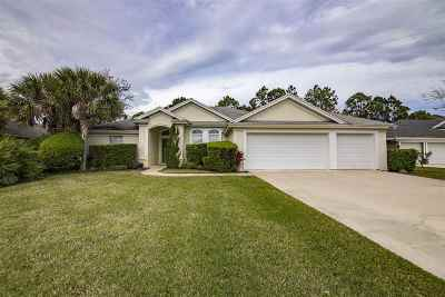 St Augustine FL Single Family Home For Sale: $398,750