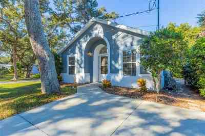 St Augustine Beach FL Single Family Home For Sale: $279,000