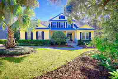 St Augustine Single Family Home For Sale: 1000 Island Way