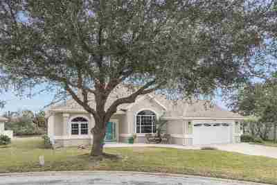 St Augustine Single Family Home For Sale: 11 Anastasia Lakes