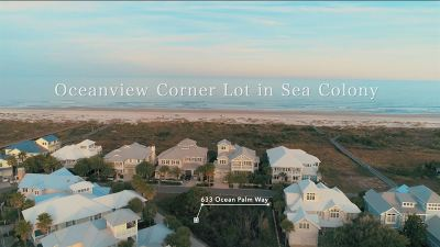 Sea Colony-St Residential Lots & Land For Sale: 633 Ocean Palm Way