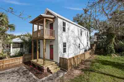 St Augustine Single Family Home For Sale: 139 Twine Street