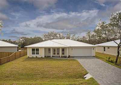 St Augustine FL Single Family Home For Sale: $394,500