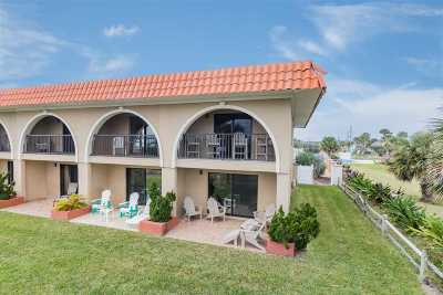 St Augustine Beach Townhouse For Sale: 826 A1a Beach Blvd #1