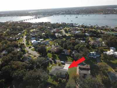 Davis Shores Single Family Home For Sale: N 81 Saint Augustine Blvd