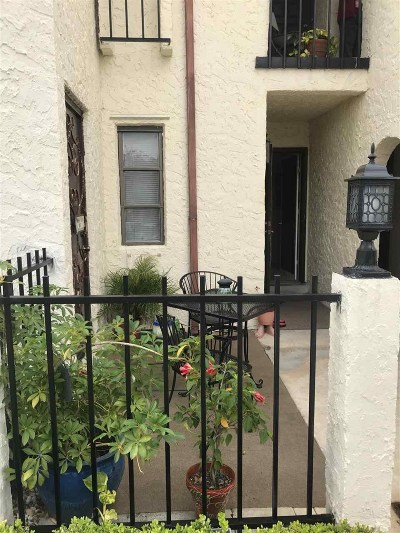 St Augustine FL Condo For Sale: $120,000