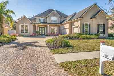 St Augustine Single Family Home For Sale: 488 Sebastain Square